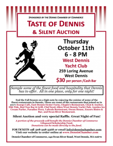 Taste of Dennis @ West Dennis Yacht Club | Dennis | Massachusetts | United States