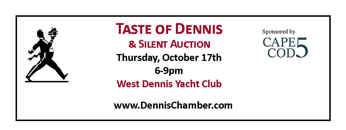 Taste of Dennis hosted by The Dennis Chamber @ West Dennis Yacht Club | Dennis | Massachusetts | United States